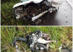 Batida entre carros deixa quatro mortos na BR-101